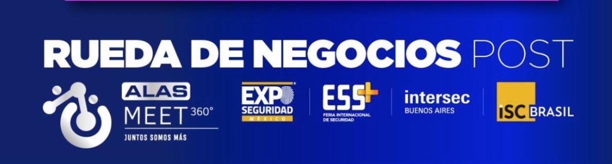 RUEDA DE NEGOCIOS ALAS MEET 360