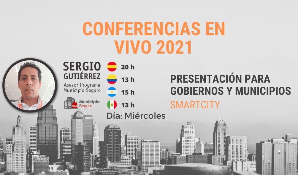 5 DE MAYO CONFERENCIA WEB LIVE: SISTEMAS DE ALARMAS COMUNITARIAS
