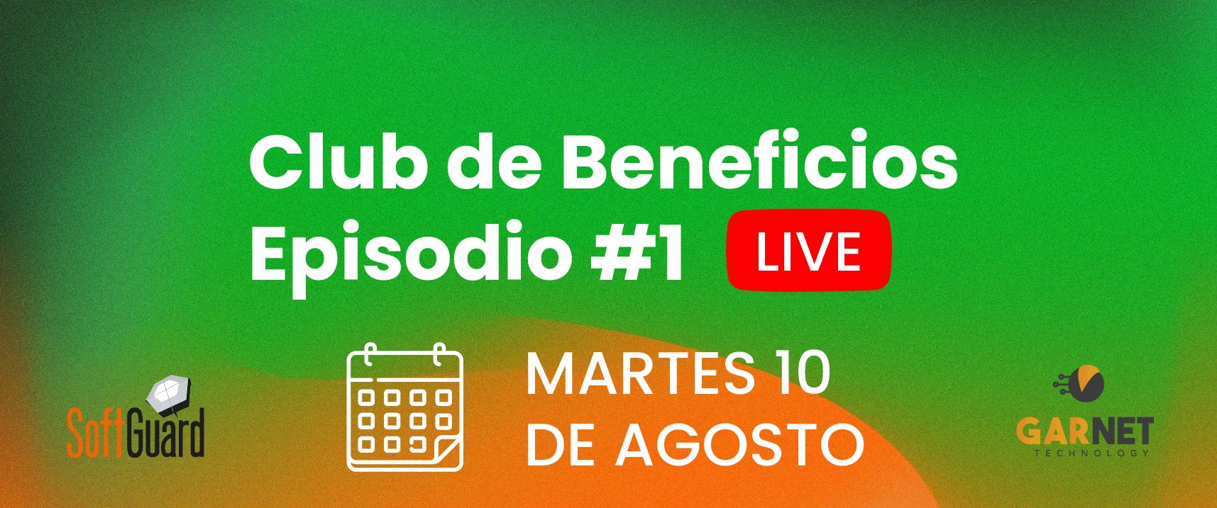 CICLO LIVE CLUB DE BENEFICIOS #1 GARNET