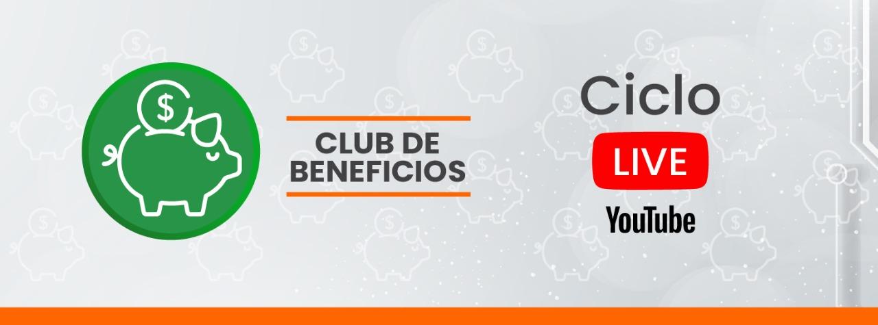 CICLO LIVE CLUB DE BENEFICIOS #3 NANOCOMM
